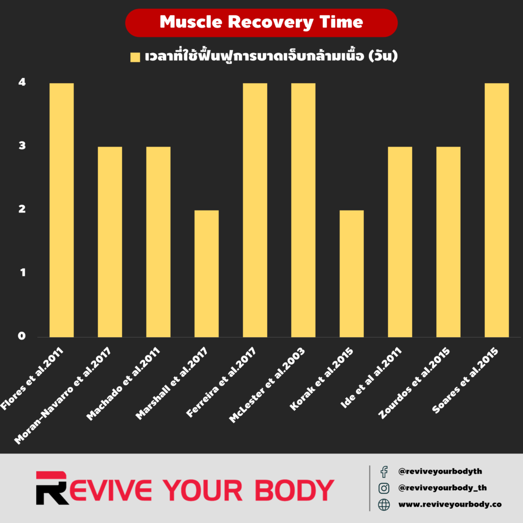 muscle recovery time